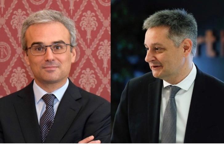 Els nous consellers de MoraBanc, José Manuel Lara i Gilbert Saboya.