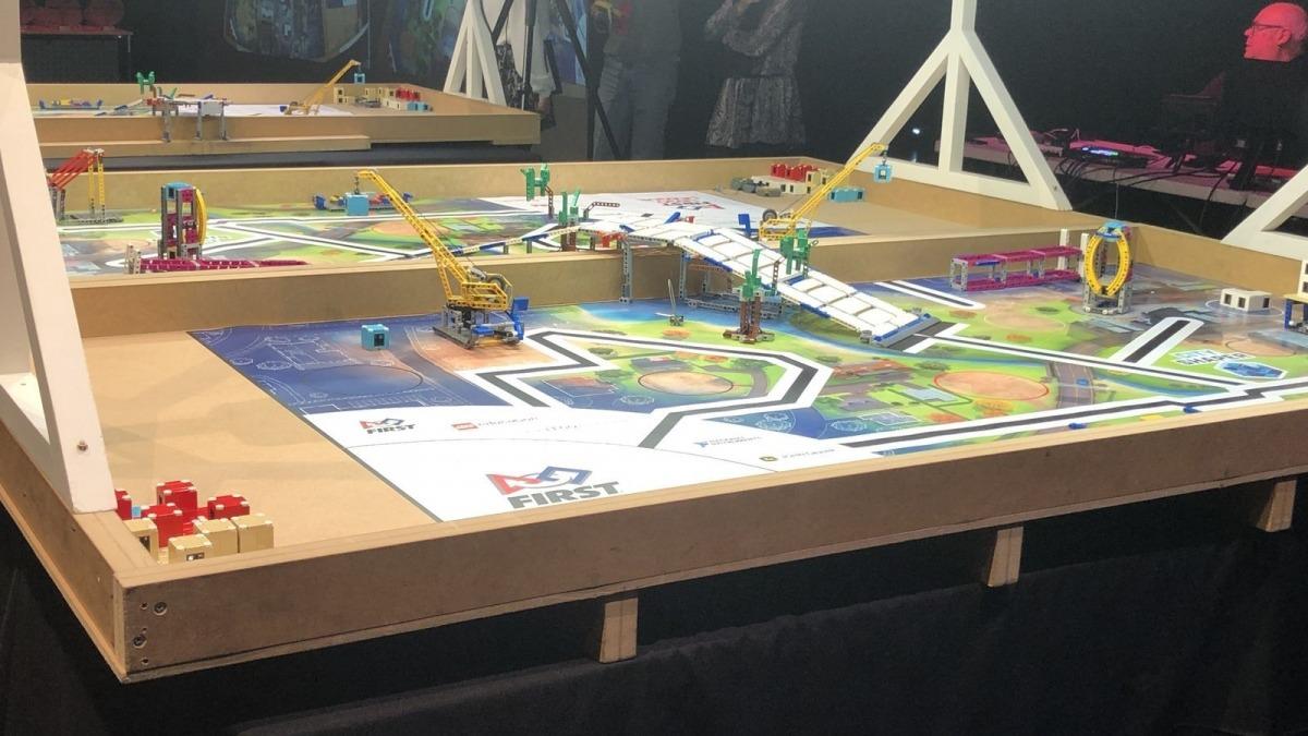 Un dels projectes de la darrera edició de la Micro First Lego League.