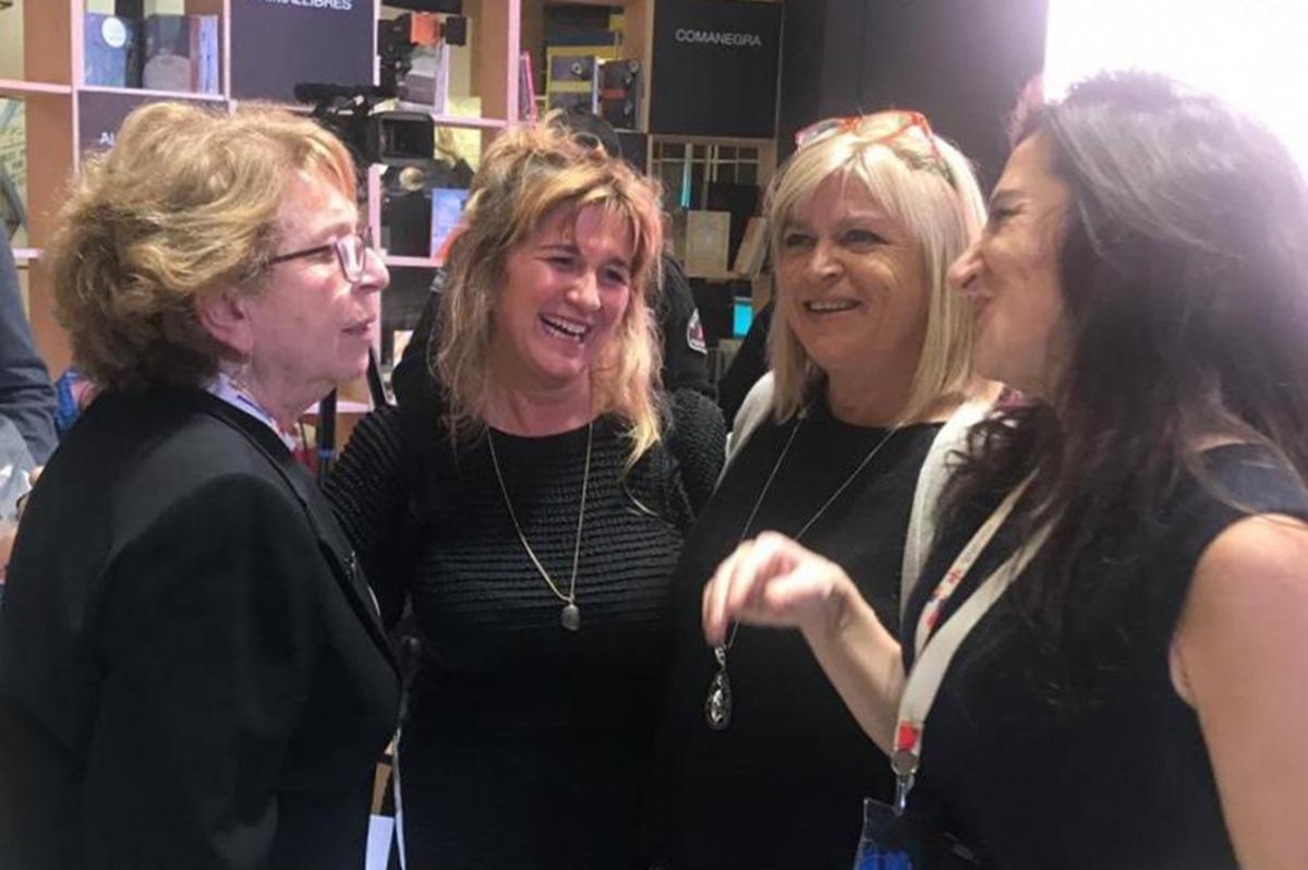 Membres de la delegació andorrana a la Fira internacional del llibre de Buenos Aires (FILBA).