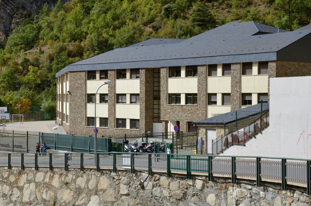 Una imatge del col·legi María Moliner.