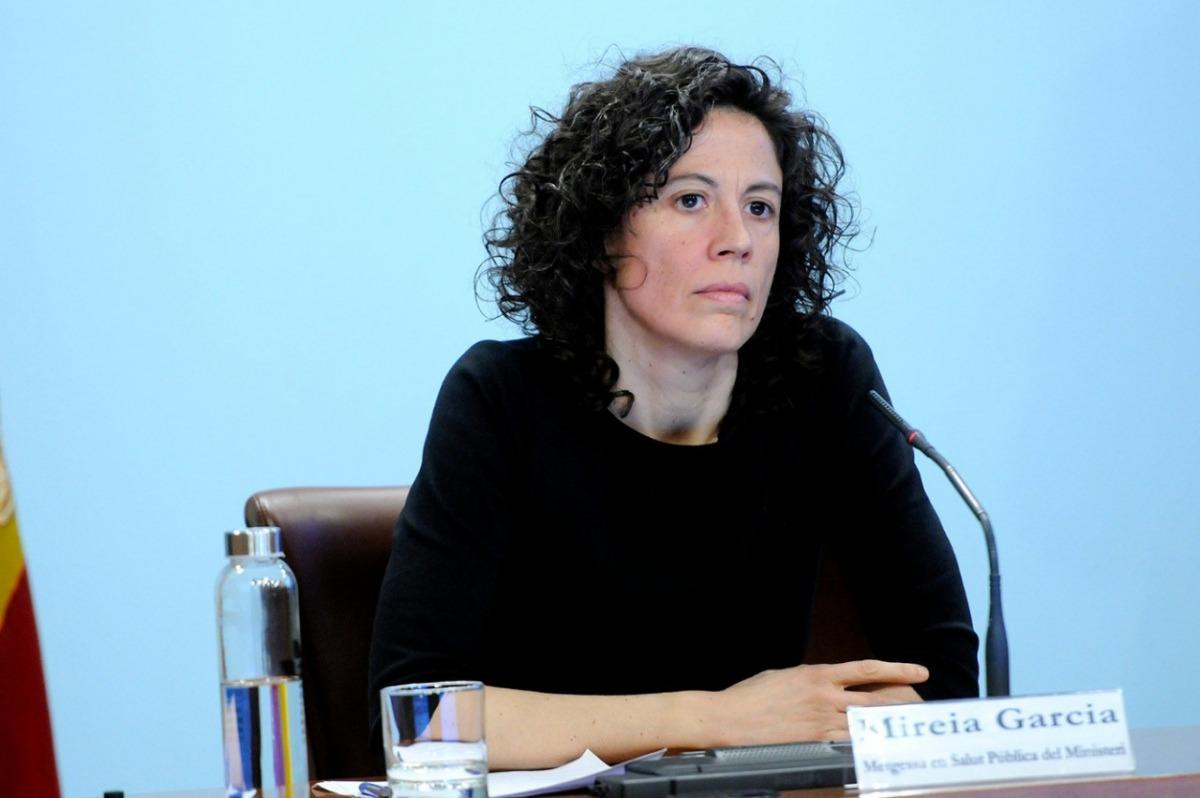 La metgessa en Salut Pública del ministeri de Salut Mireia Garcia.