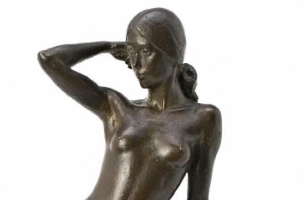La sala Balclis subhasta 'Jove nua', un bronze de Viladomat