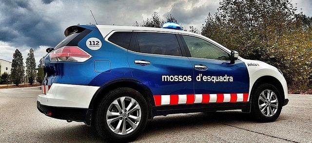 Els mossos van detenir el contrabandista a la C-28.