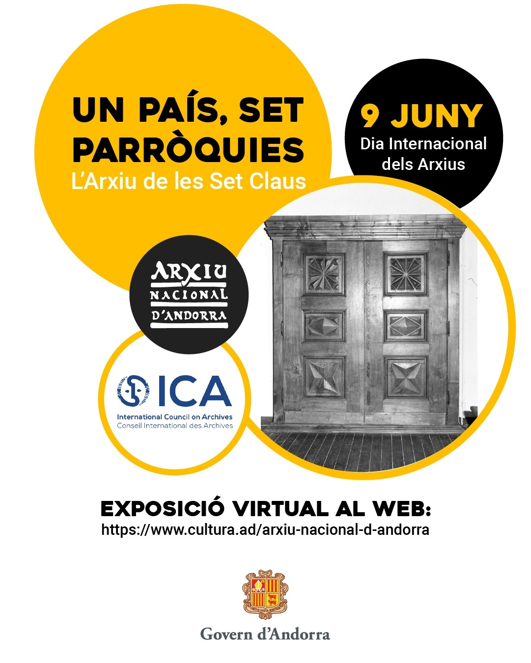 El cartell promocional de la mostra.