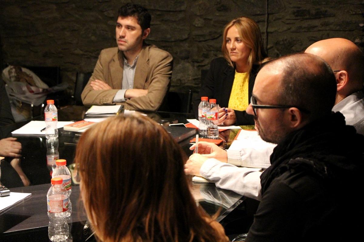 Imatge de la reunió del Consell Assessor de Patrimoni Nacional, celebrada a Casa Museu Areny-Plandolit