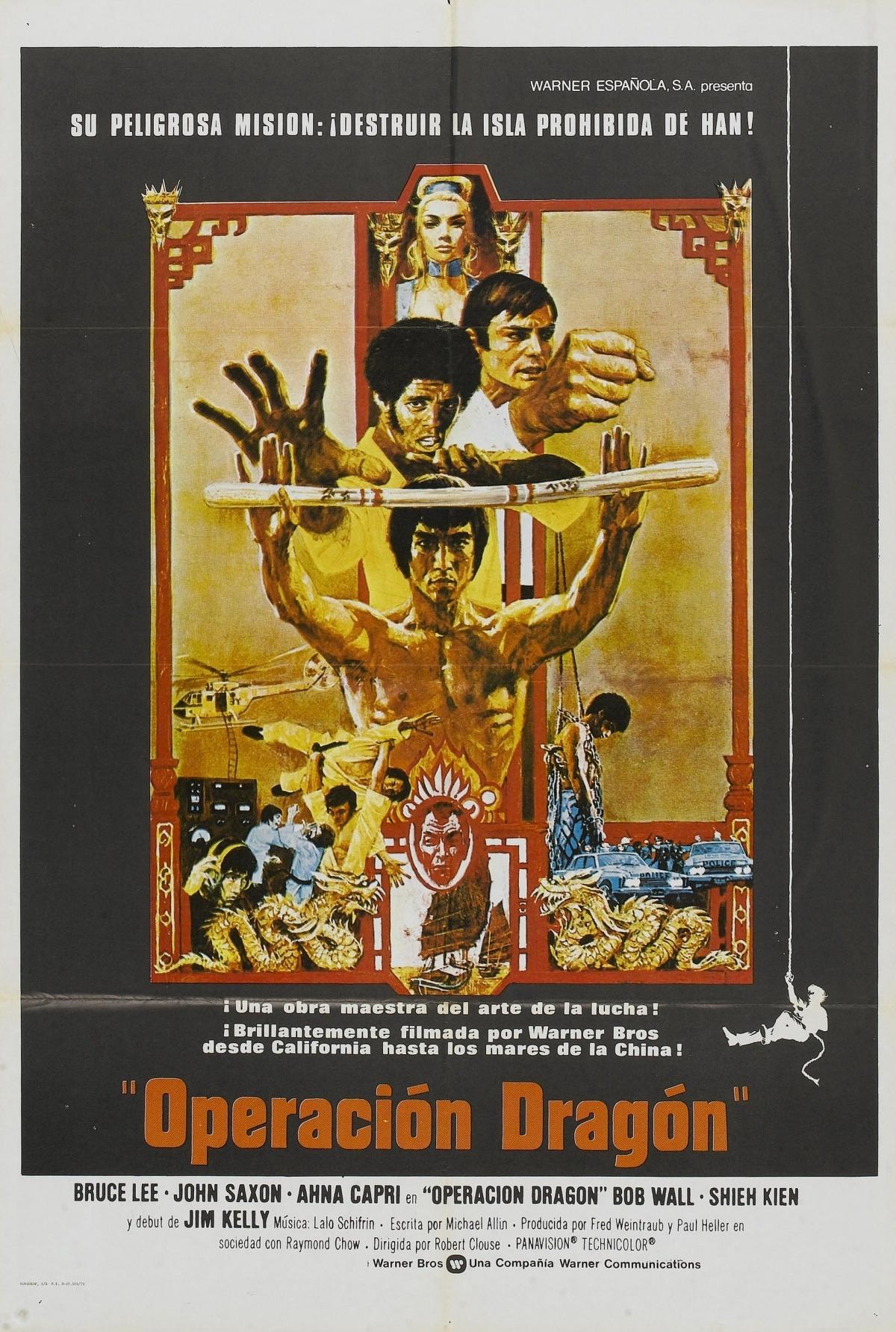 La pel·lícula pòstuma de Bruce Lee, en pantalla gran: segur que mai no l'hi havia vist.