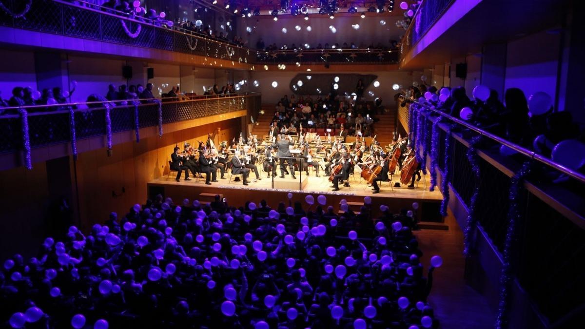 El concert de cap d'Any a l'Auditori Nacional.