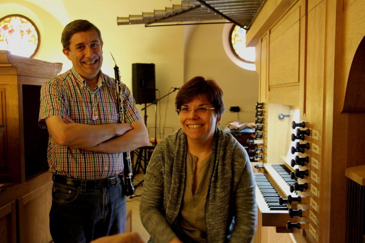 El grup Miscelánea XVIII-21 transporta l'obra de Bach al so de l'orgue i l'oboè d'amor El grup Miscelánea XVIII-21 transporta l'obra de Bach al so de l'orgue i l'oboè d'amor
