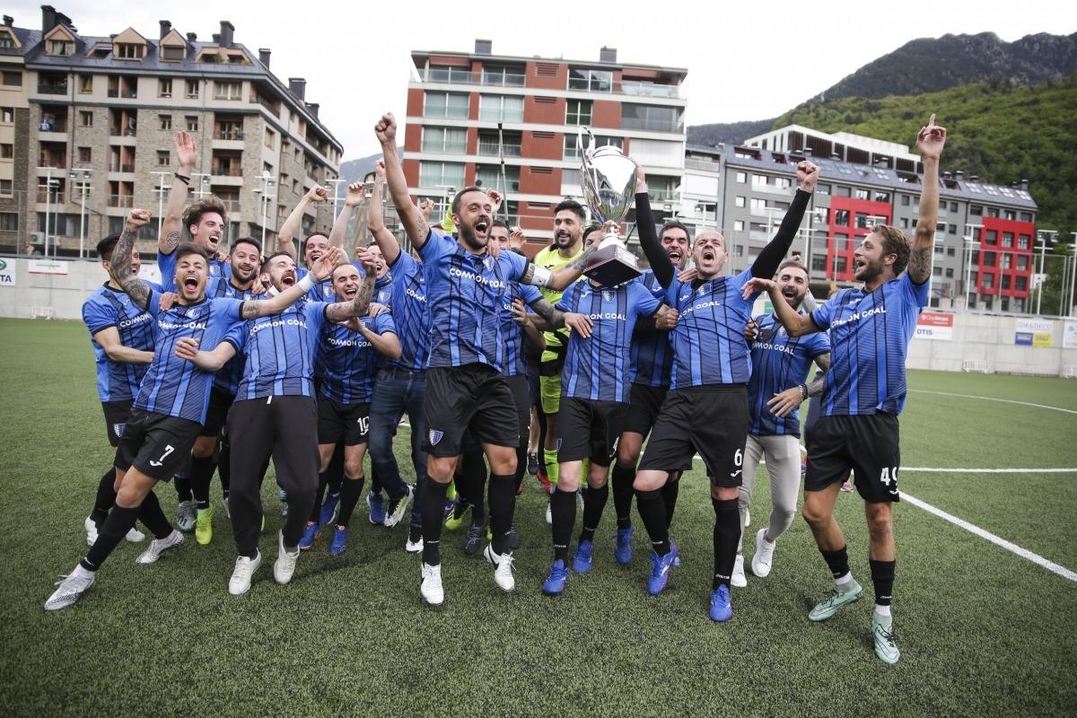 L'Inter va aixecar el seu segon títol de lliga. Foto: Facundo Santana