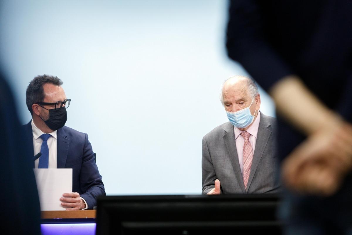 Filloy i Rodríguez en la roda de premsa posterior a la signatura del conveni.
