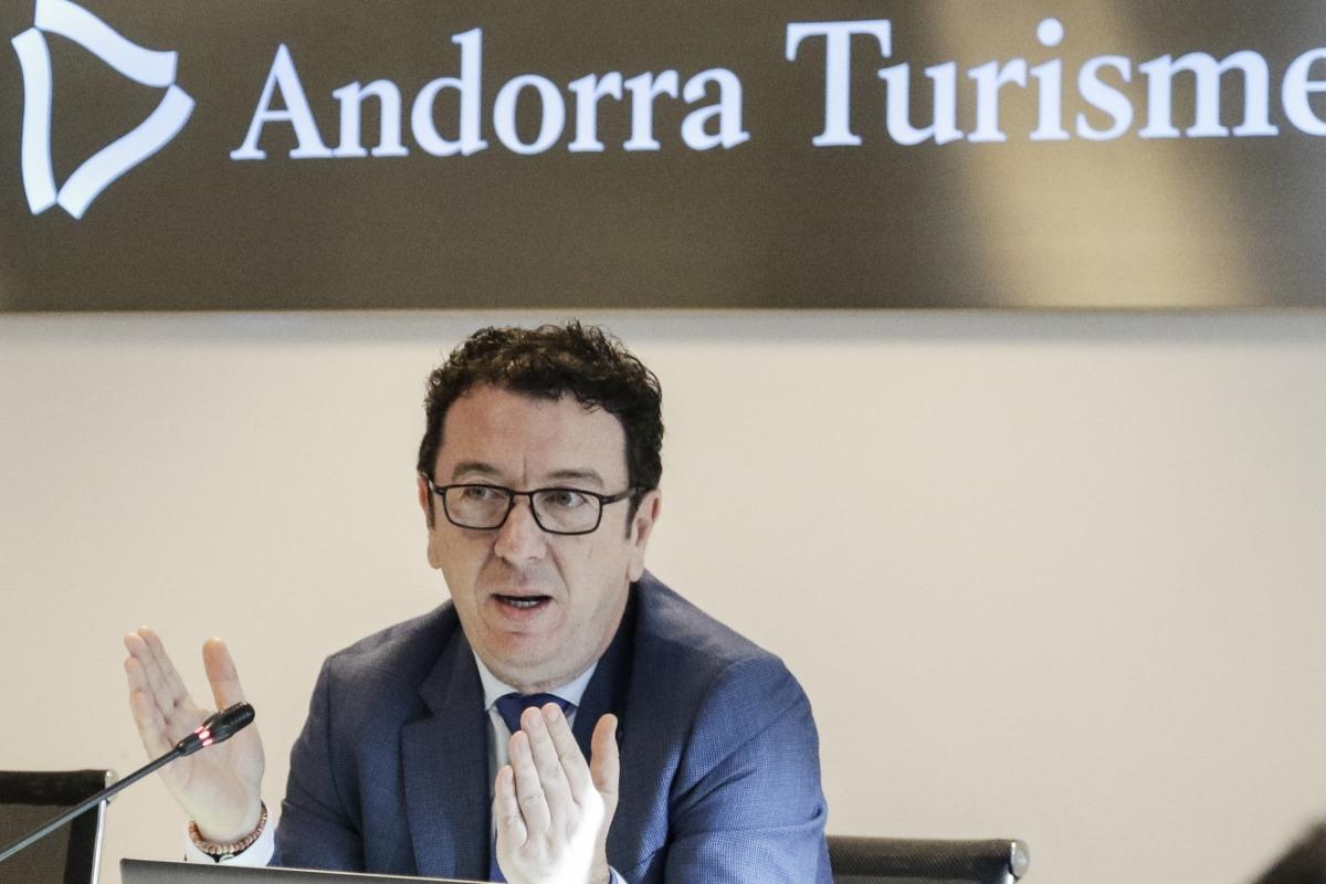 El gerent d'Andorra Turisme, Betim Budzaku.