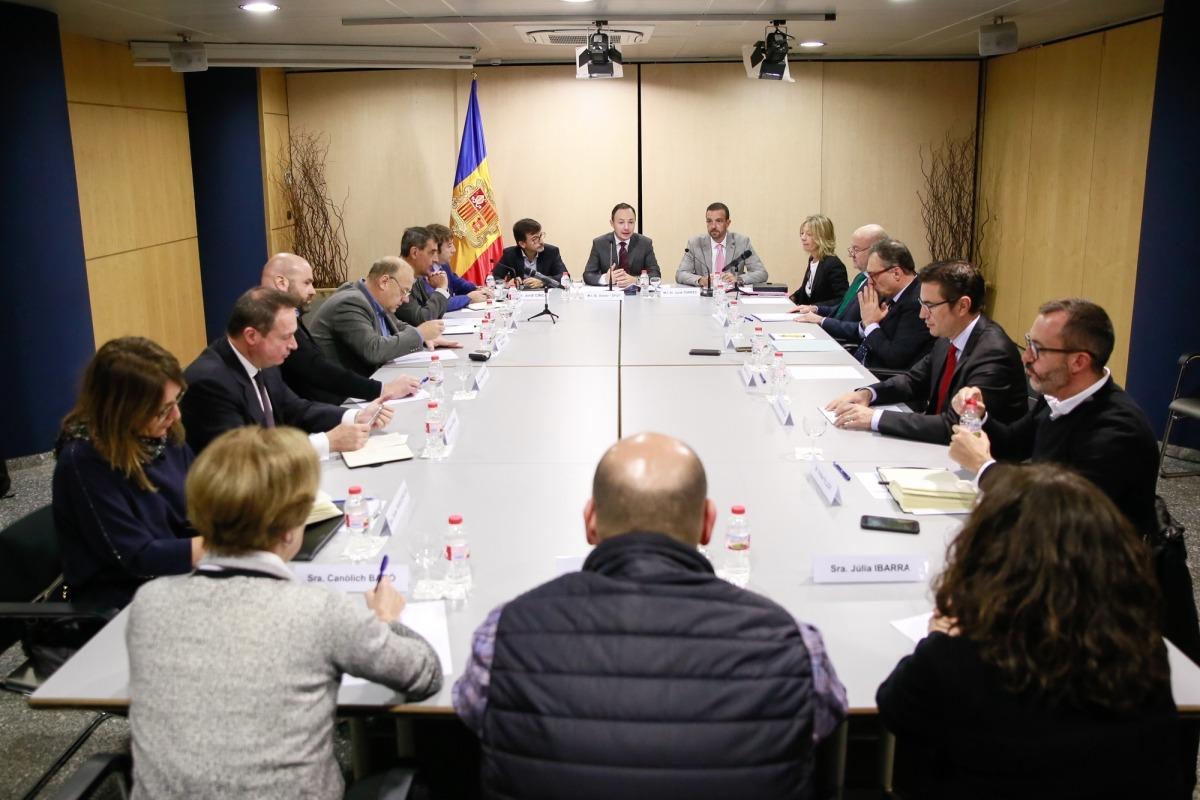 La primera reunió de la Comissió Nacional de l'Habitatge va tenir lloc ahir.