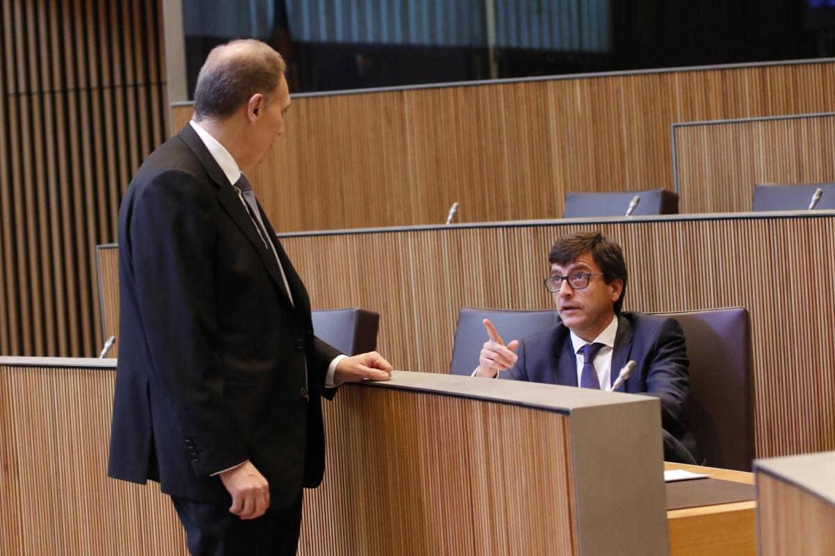 La congelació de les transferències monopolitza el debat del pressupost