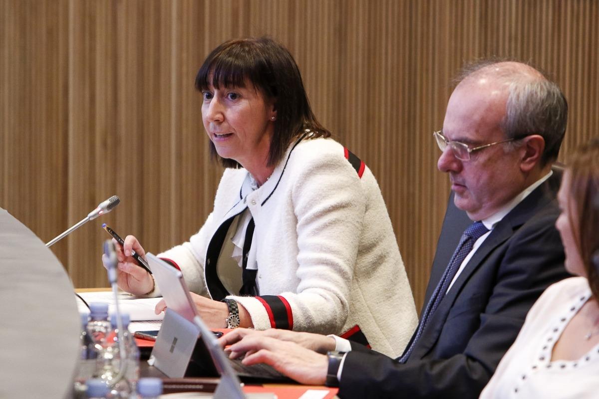 La ministra de Funció Pública i Reforma de l'Administració, Eva Descarrega,