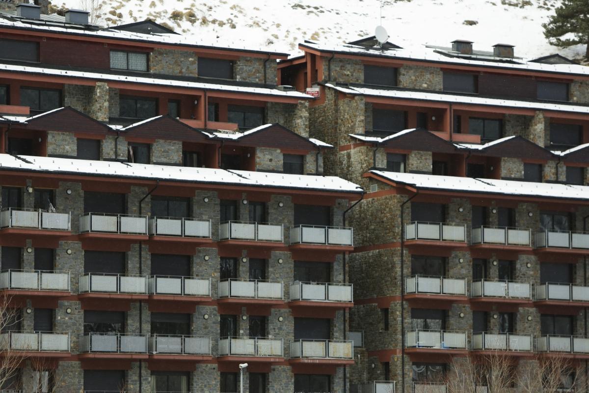 Un bloc d'apartaments turístics.