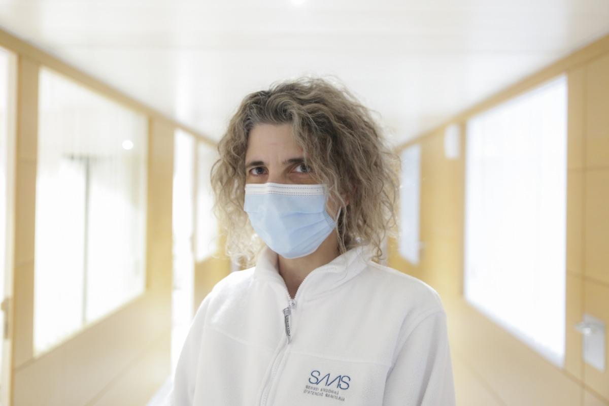 La metgessa Odilé Sarroca.