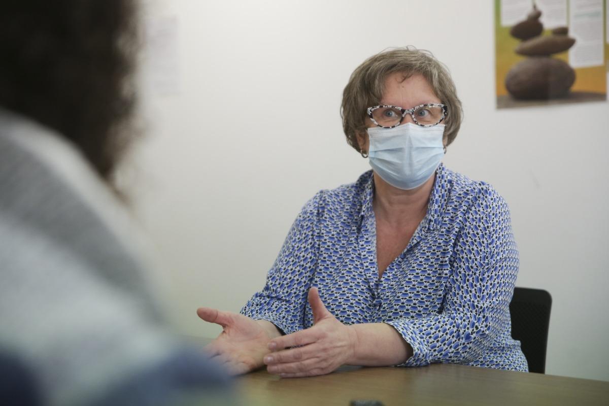 La cap d'àrea del departament de Prevenció, Promoció i Vigilància de la Salut, Rosa Vidal.