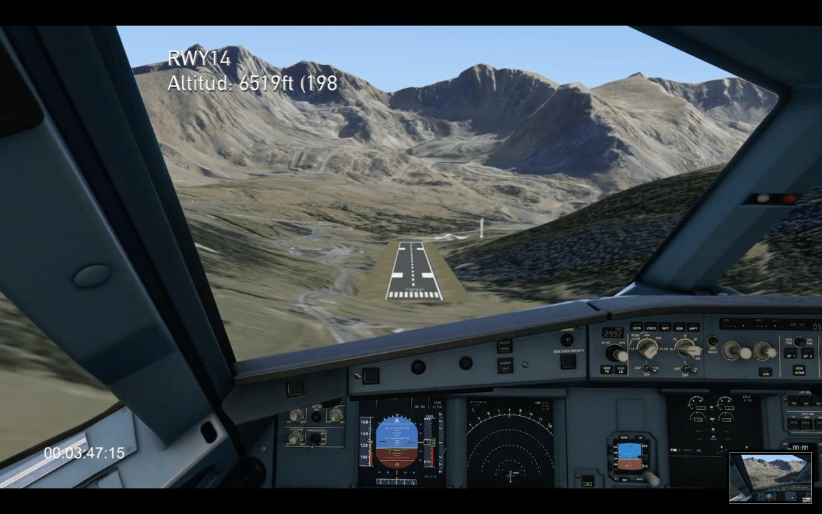 Simulació del projecte de l'aeroport a Grau Roig impulsat per la Cambra de Comerç.