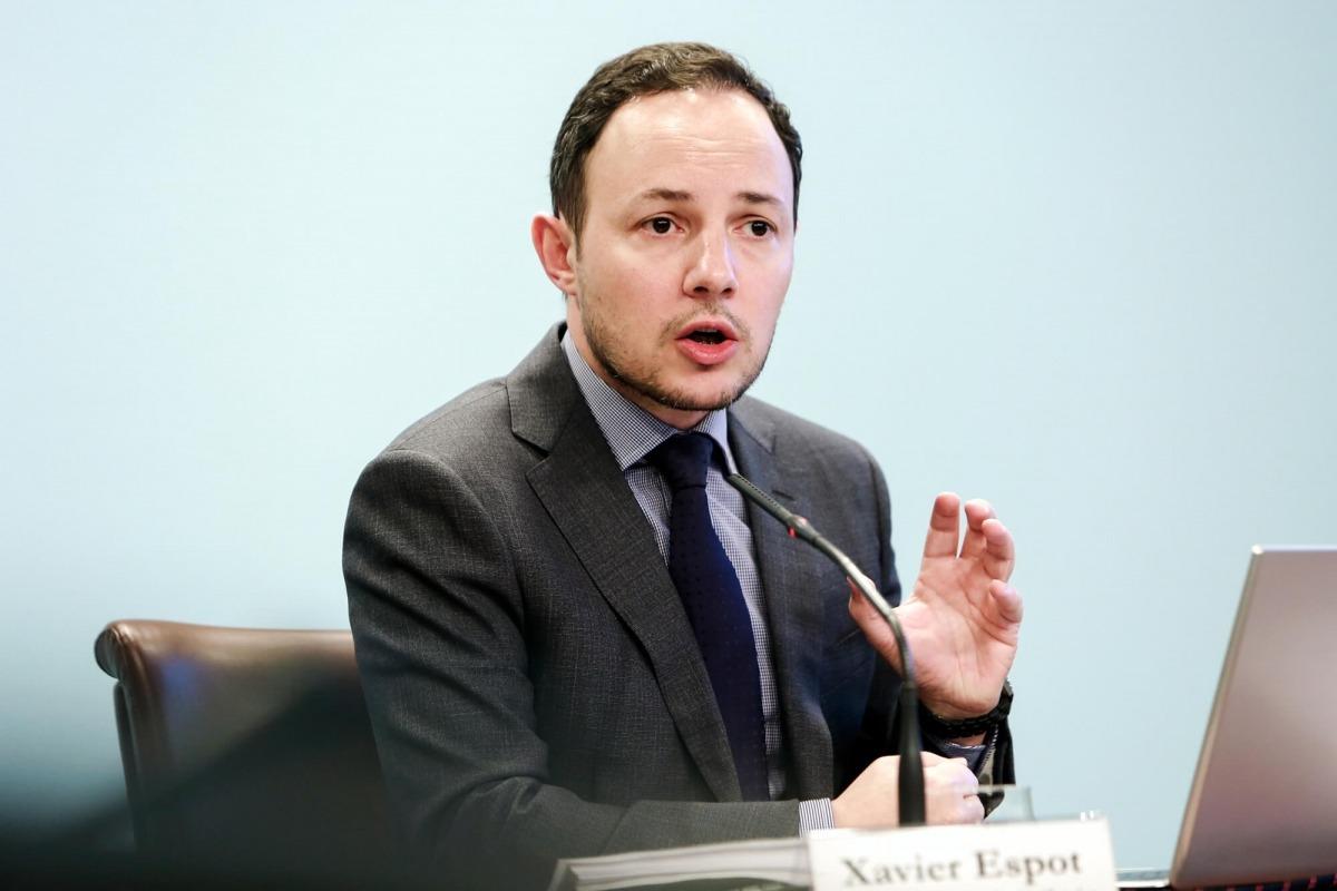 El ministre d'Afers Socials, Justícia i Interior, Xavier Espot, va presentar ahir el projecte de llei d'ocupació.