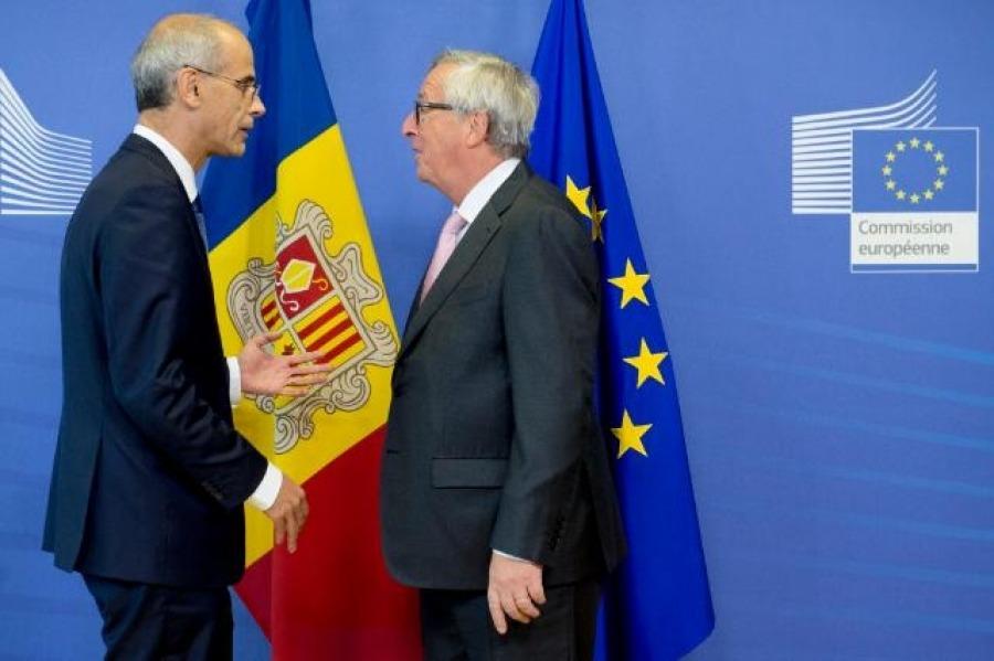 """Martí destaca la """"predisposició"""" de la Comissió respecte de l'acord duaner"""