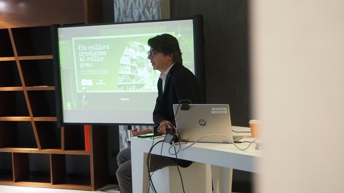El director de màrqueting i digitalització del Grup Pyrénées, Angel Alonso.