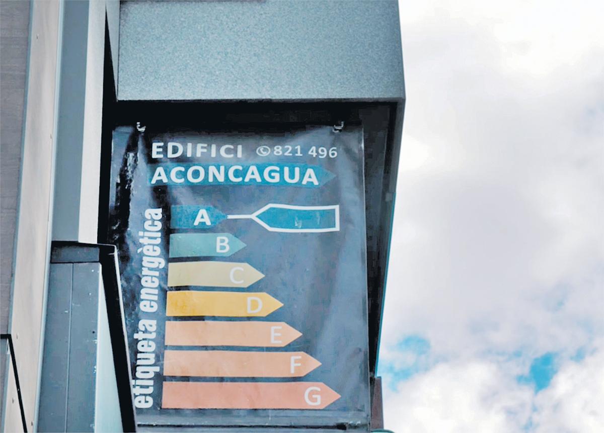 Un edifici premiat per l'eficiència energètica.