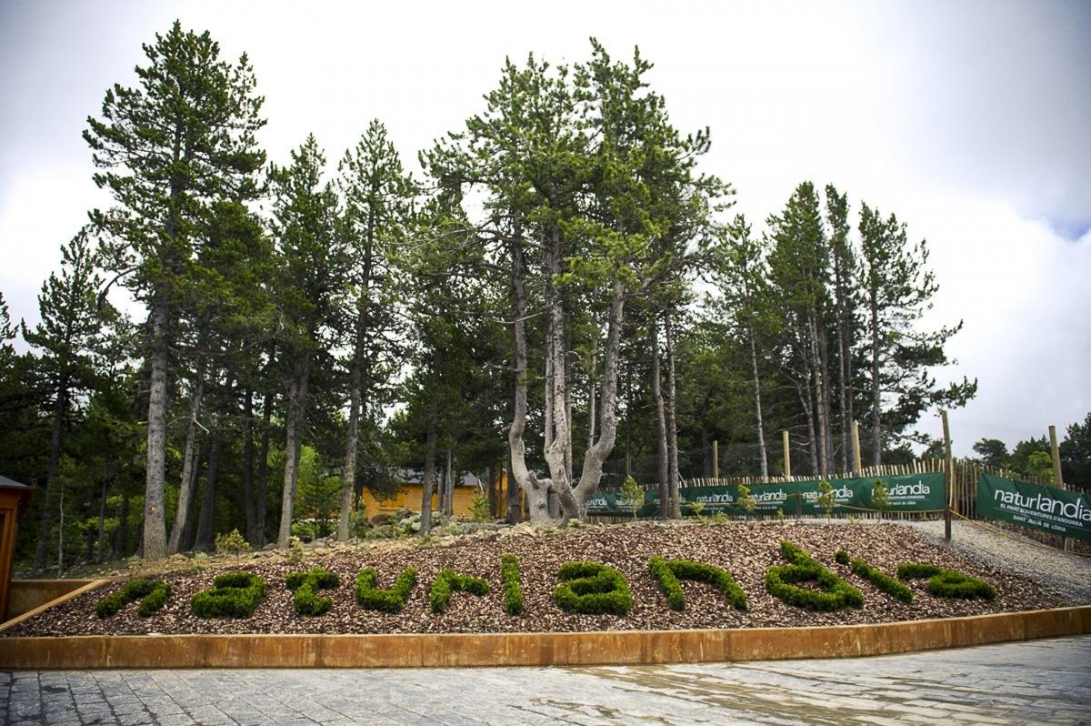 Les instal·lacions a la cota 1.600 de Naturlàndia.