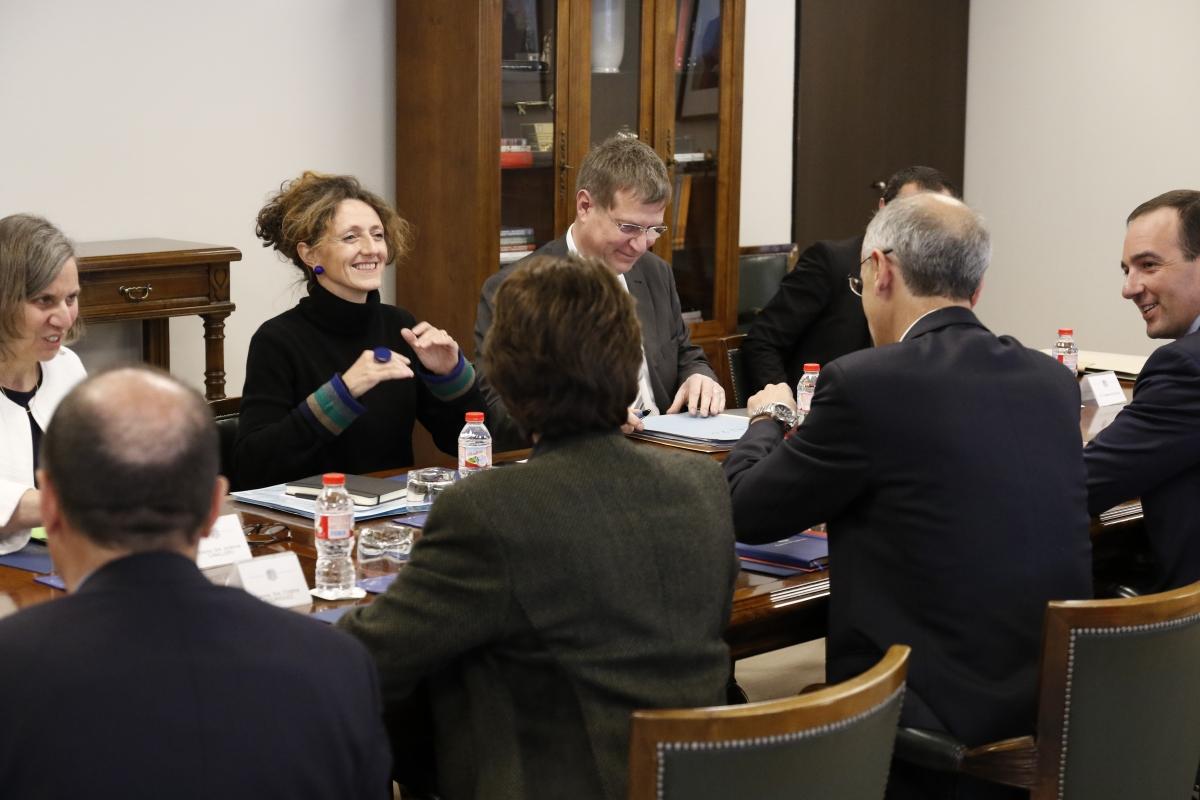 Martí i Lajus impulsen el projecte de millora i embelliment de l'RN-20