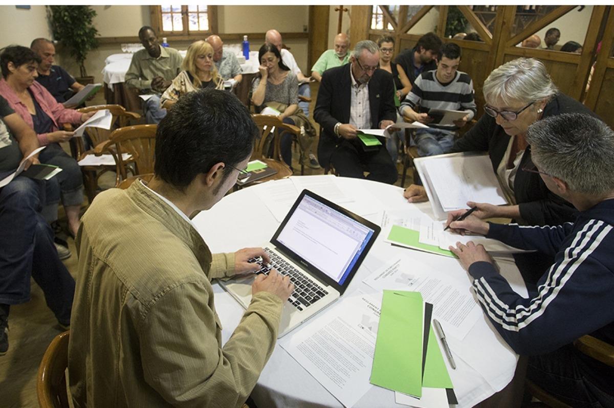 Una reunió de Verds d'Andorra.