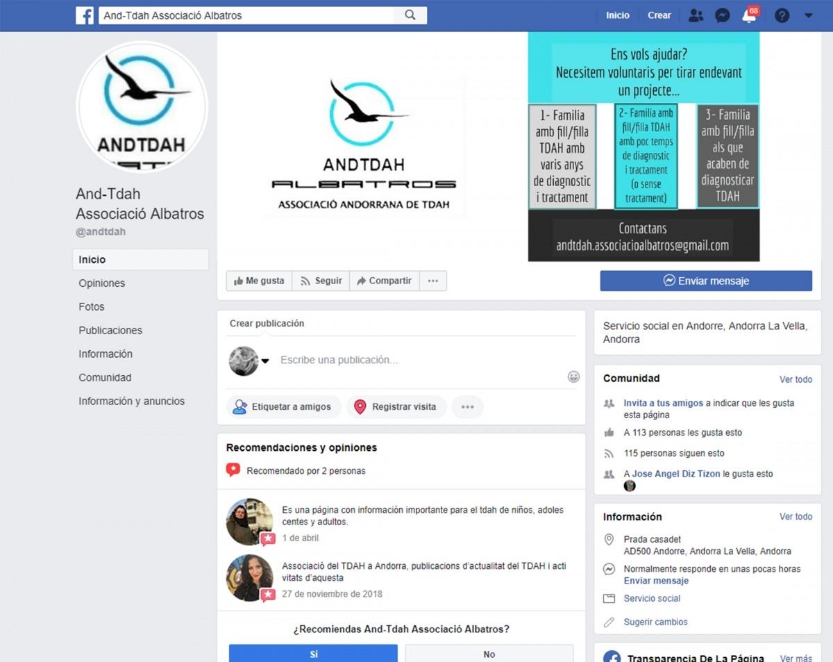Albatros reclama col·laboració al facebook.