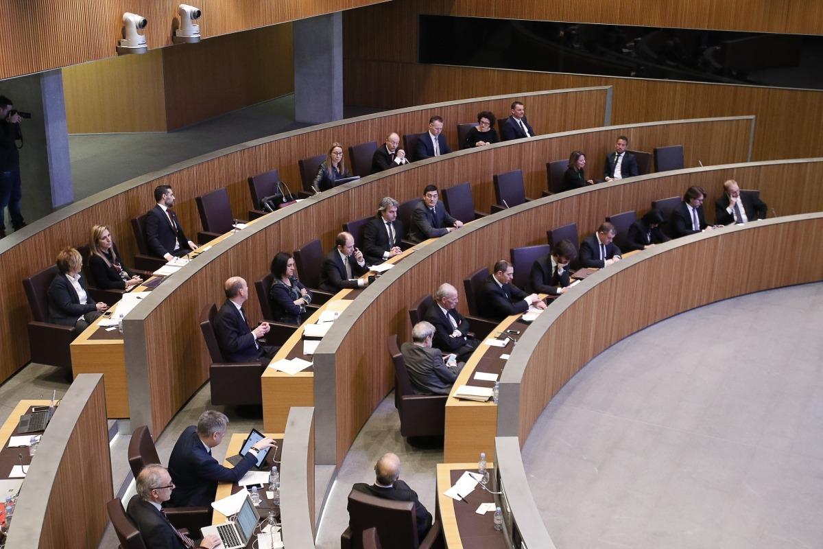 L'oposició parlamentària.