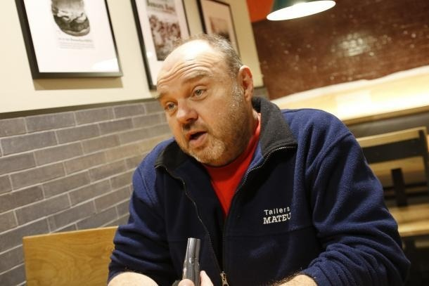 El secretari general de la Unió Sindical d'Andorra, Gabriel Ubach.
