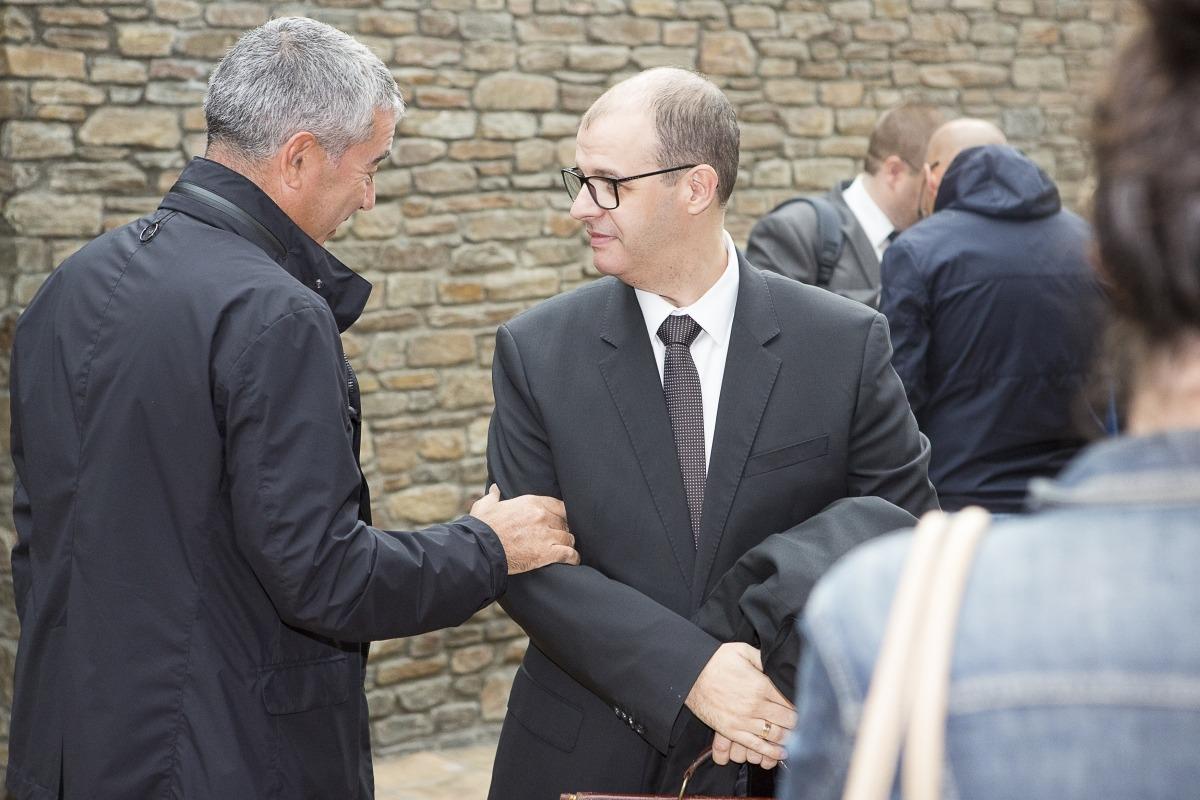 L'advocat Josep Anton Silvestre, que defensa quatre processats