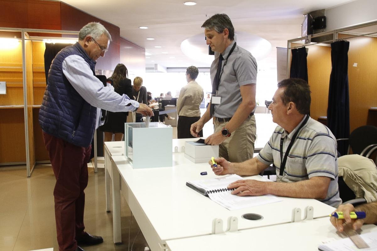 Un total de 3.527 persones van participar en les eleccions de la CASS, xifra que representa el 5,33% dels 66.133 afiliats.