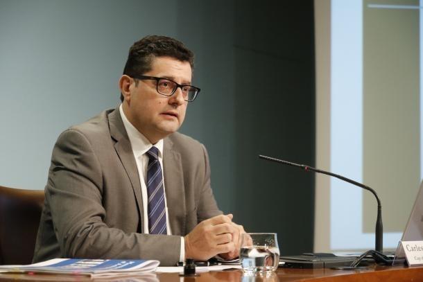 Carles Fiñana és cap de la Unitat d'Intel·ligència Financera d'Andorra.