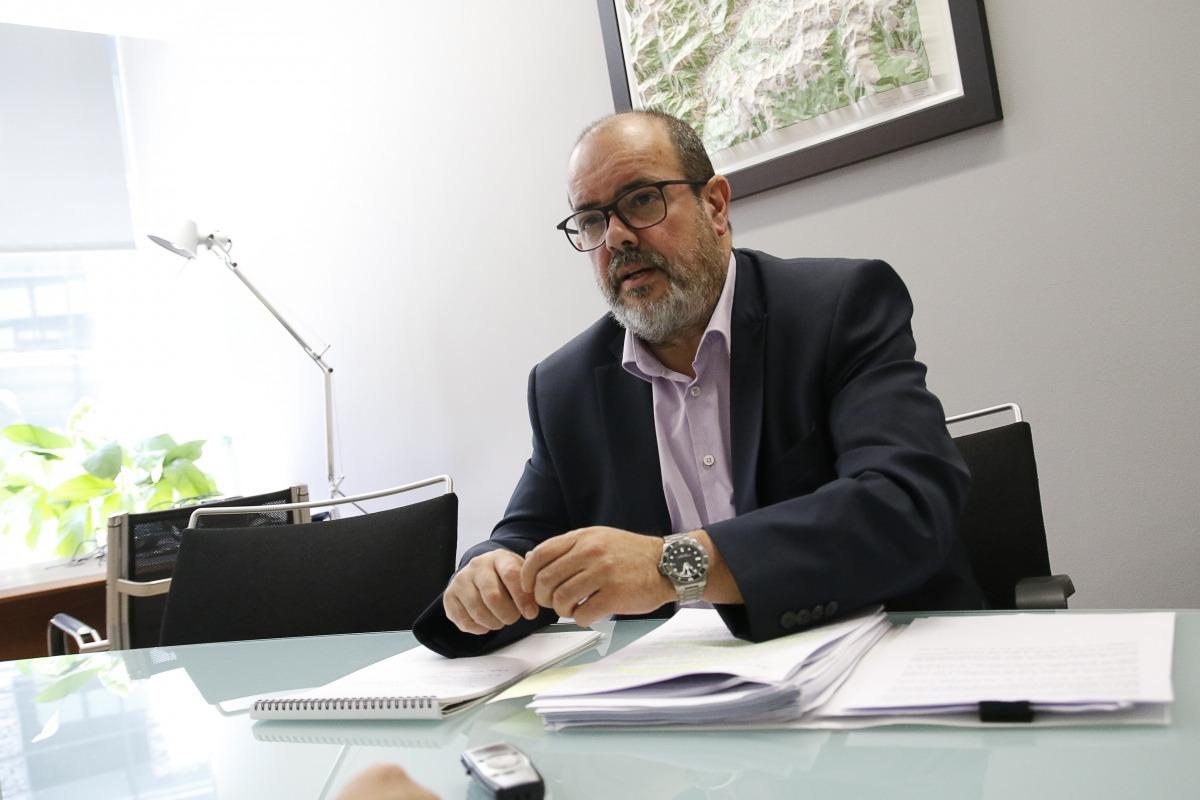 Joan Crespo és el director de l'Agència de Protecció de Dades d'Andorra (APDA).