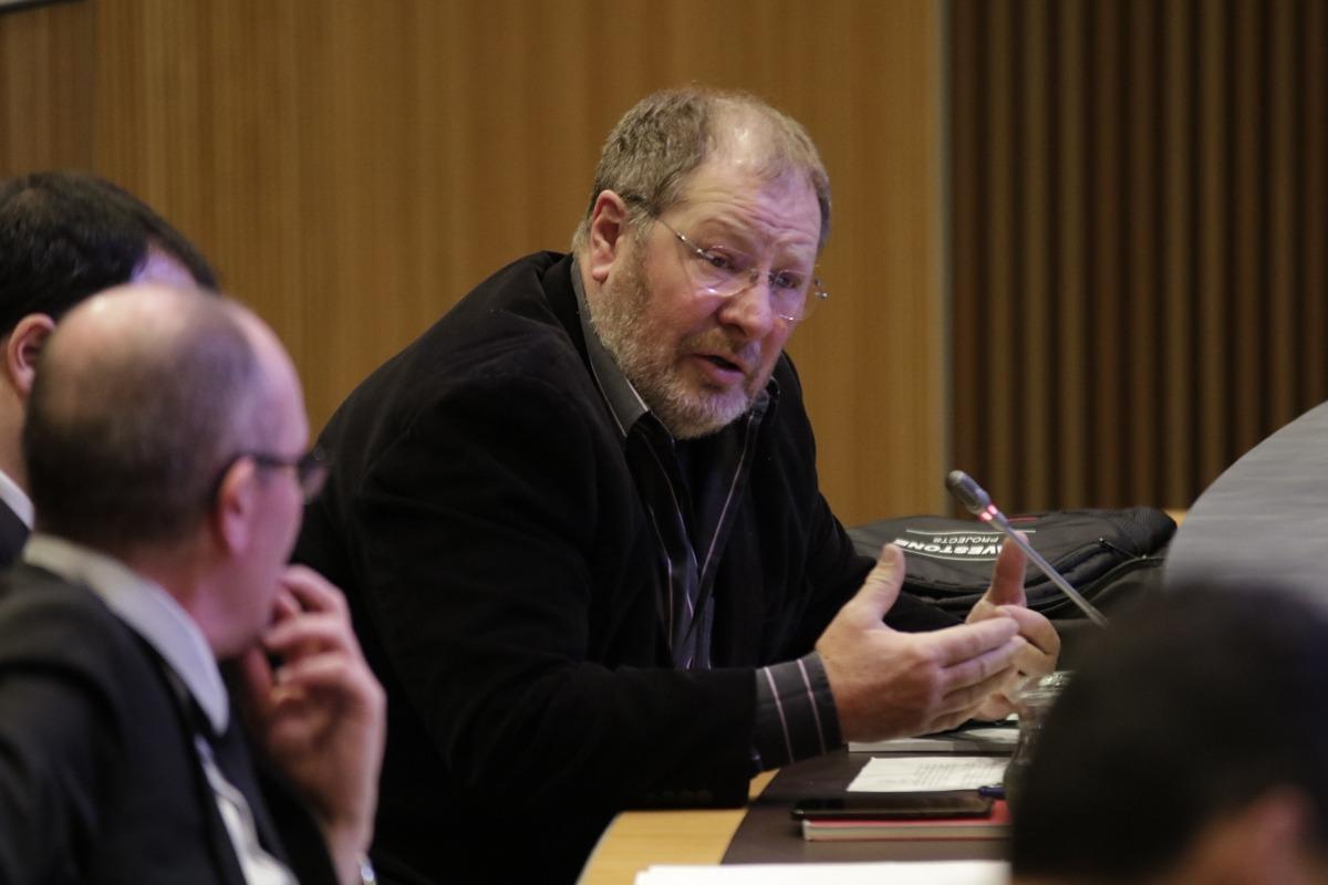 El conseller general socialdemòcrata Jordi Font en una de les seves intervencions a la cambra parlamentària.
