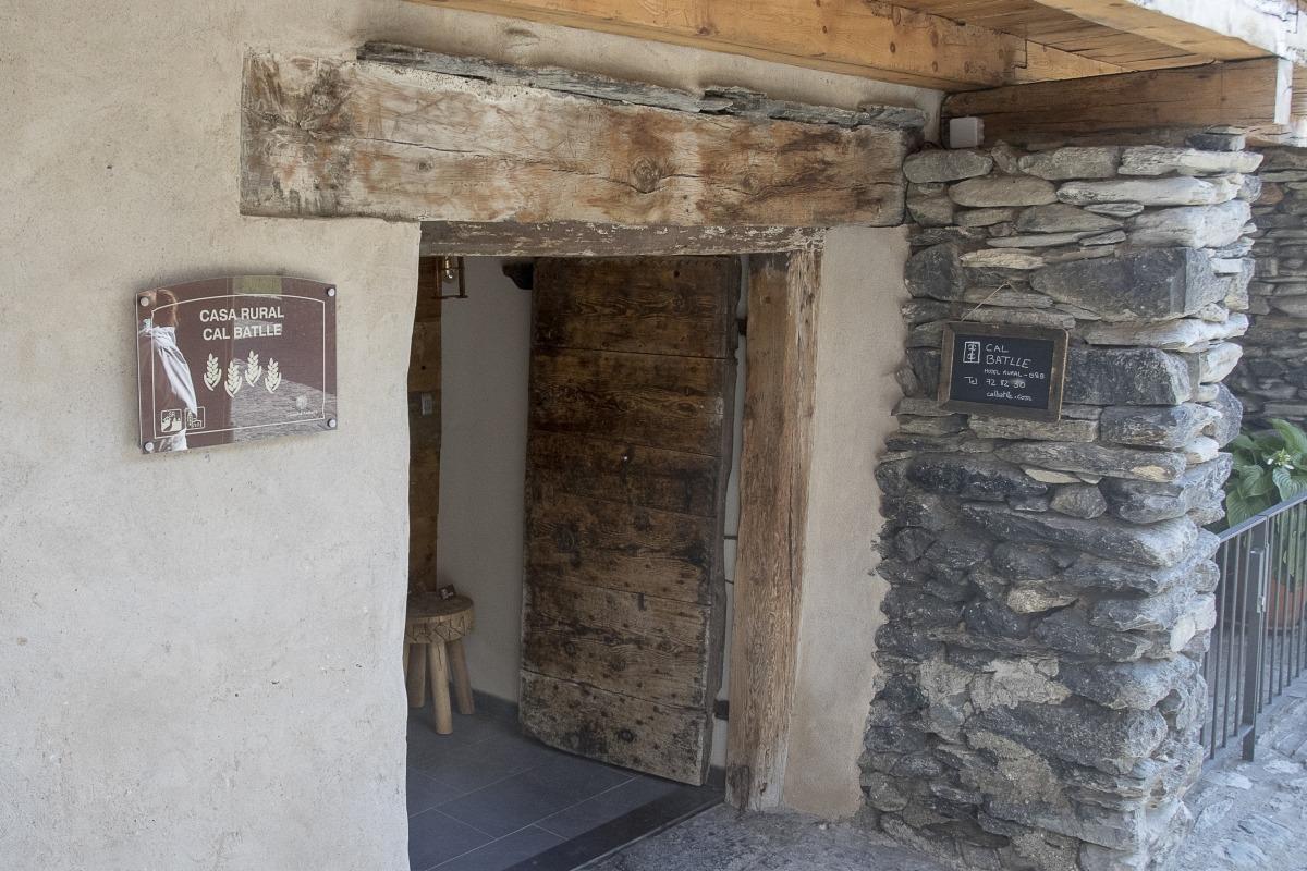 Un dels establiments del Principat registrats com a allotjament rural.