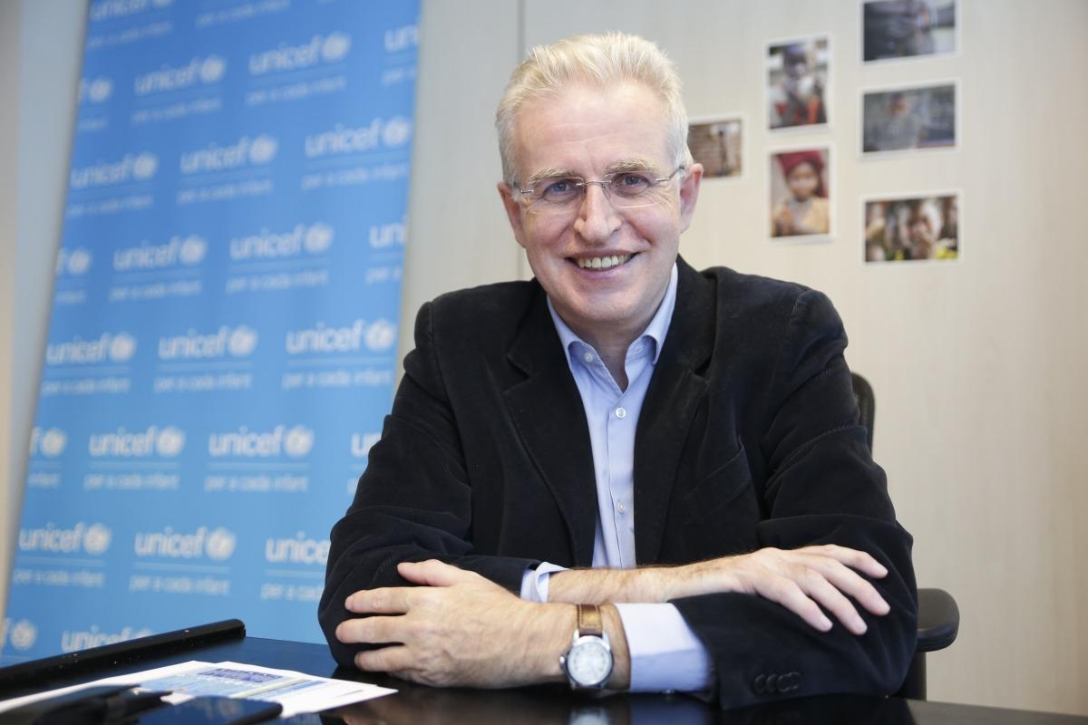 El director del Comitè d'Andorra per l'Unicef, Albert Mora.