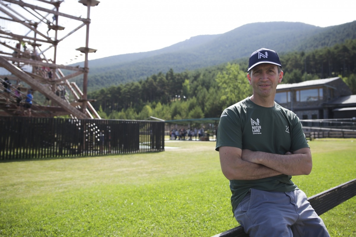 El director general de Naturland, Xabier Ajona.