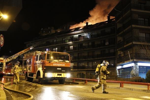 Intervenció en 274 incendis, la xifra més alta des del 2011