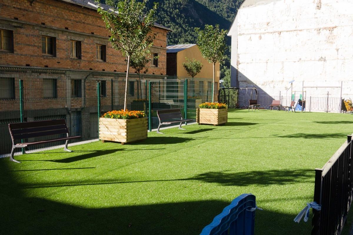 L'avinguda Santa Coloma disposarà en unes setmanes d'un nou espai públic