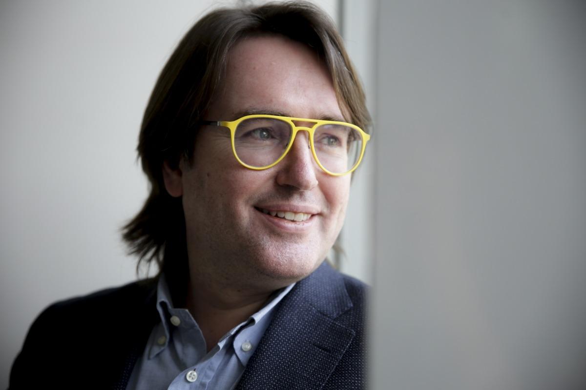 El president del grup parlamentari de Ciutadans Compromesos, Carles Naudi d'Areny-Plandolit.