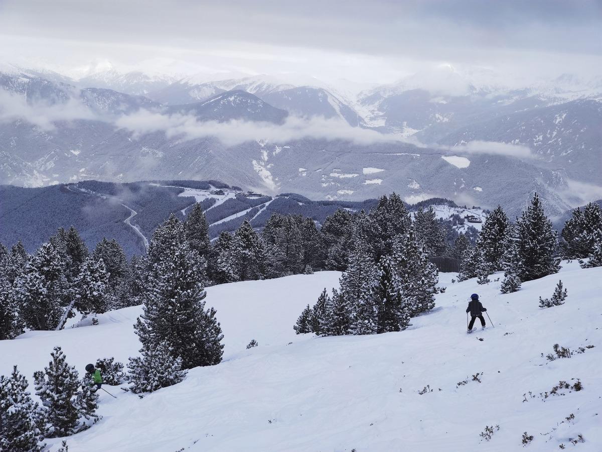 Una estació d'esquí del país, aquesta temporada d'hivern.