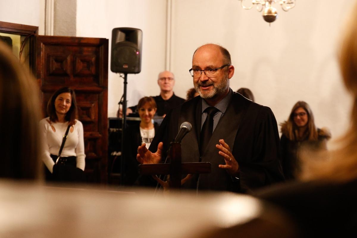 Vicent Anière va renovar ahir el càrrec com a magistrat del TSJ i president de la sala civil.