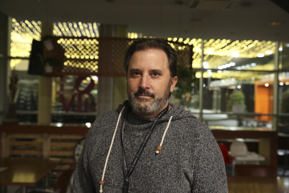 Francesc Medina, portaveu d'Unió de Bars d'Andorra