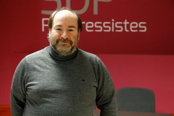 L'exsecretari d'organització de Progressistes-SDP, Joan Marc Miralles.