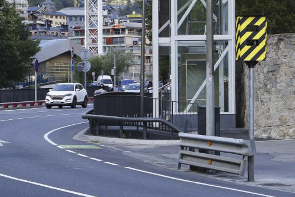 Els excessos de velocitat se sancionaran amb multes de fins a 400 euros.
