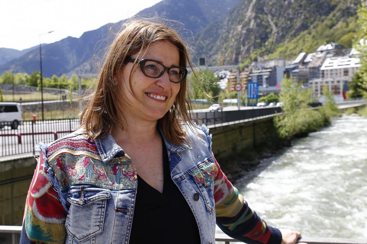 La consellera de L'A+I al Comú d'Ordino, Sandra Tudó.