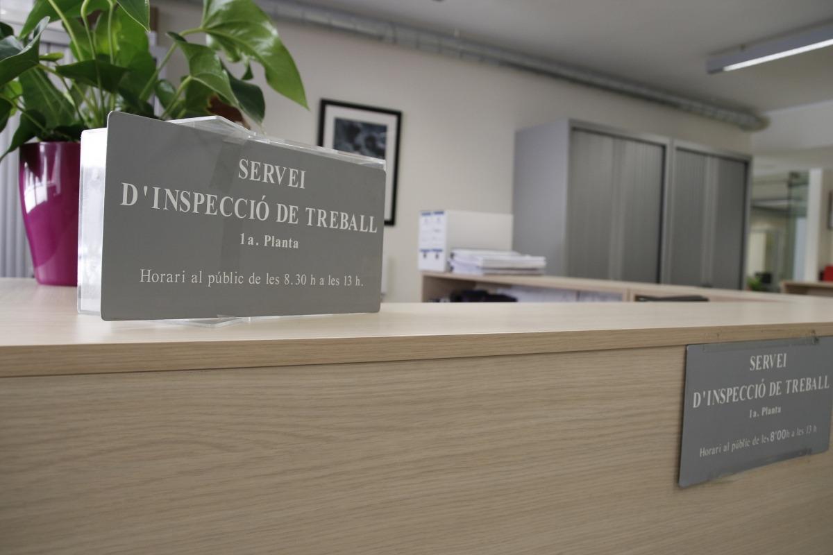 Inspecció de Treball imposa 177 sancions per un import de mig milió
